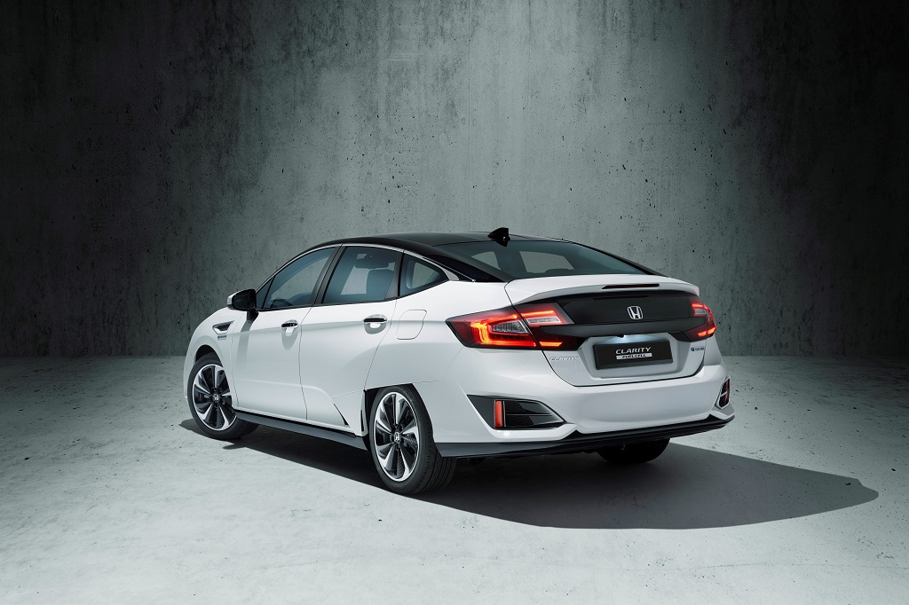 Honda Clarity Fuel Cell heck