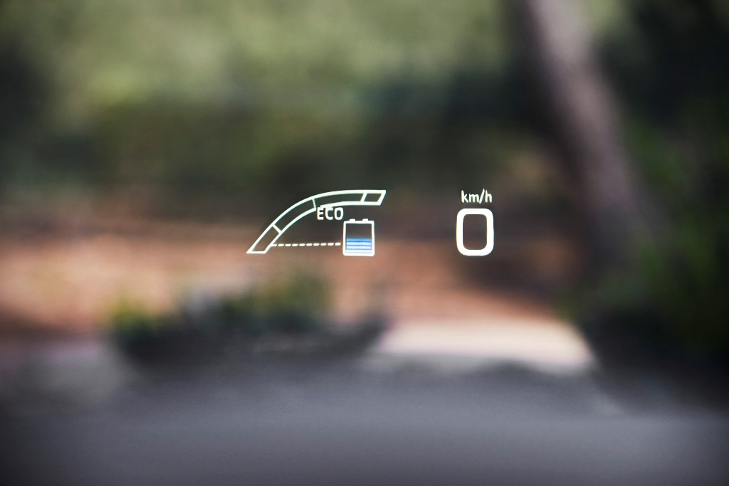 Toyota Prius Headup-Display