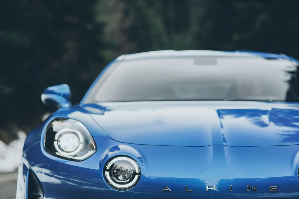Renault Alpine A110 Scheinwerfer