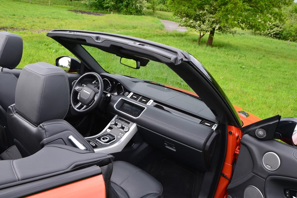 Range Rover Evoque Cabriolet Interieur