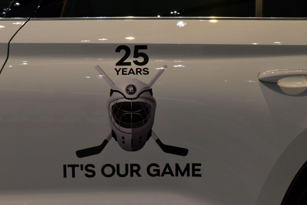 Skoda und Eishockey - Das Logo