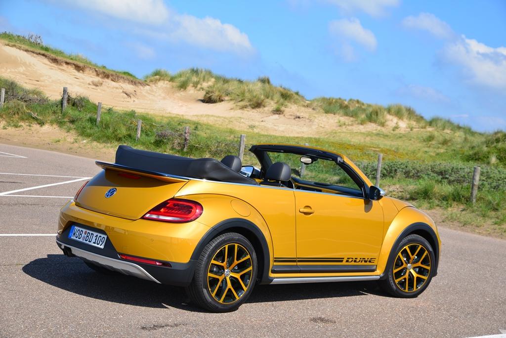 Volkswagen beetle dune cabriolet test des hochgelegten for Dietmar heck