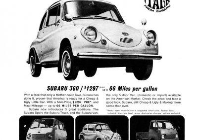 Subaru 360 Commercial