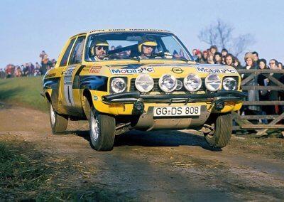 Opel Ascona A Walter Röhrl
