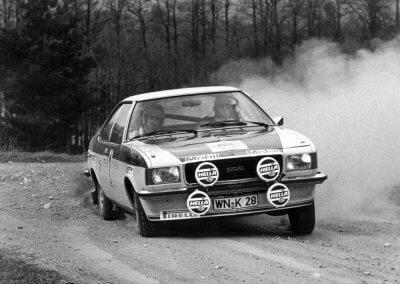 Walter Röhrl/Jochen Berger auf Opel Commodore GS/E, Europarallye 1973