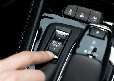 Opel Grandland X Hybrid4 Drive Mode Schalter