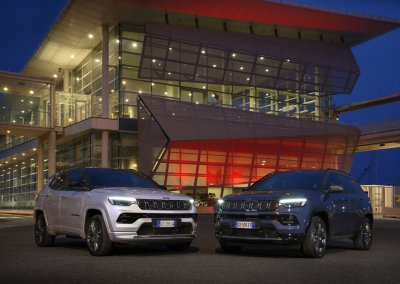New Jeep Compass S 4xe and 80th Anniversary