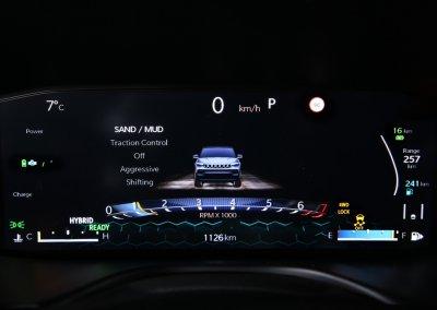 New Jeep® Compass Anzeige