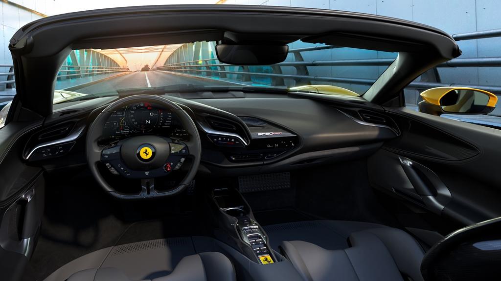 Ferrari SF90 Spider Cockpit