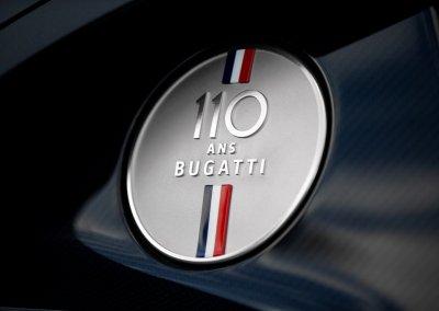 110 ans Bugatti logo