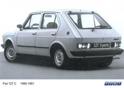 Fiat 127 C 5 porte