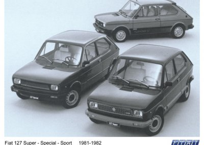 Fiat 127 Super - Special - Sport