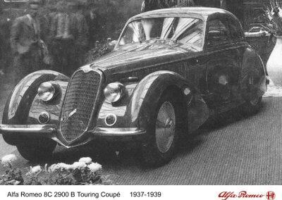 Alfa Romeo 8C B Touring Coupé