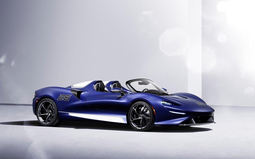 McLaren Elva – Open-Top-Roadster