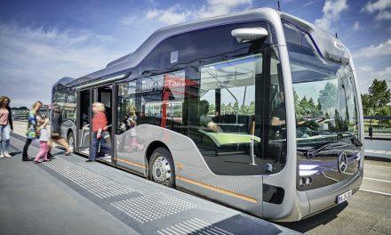 Der autonome Stadtbus von Mercedes-Benz
