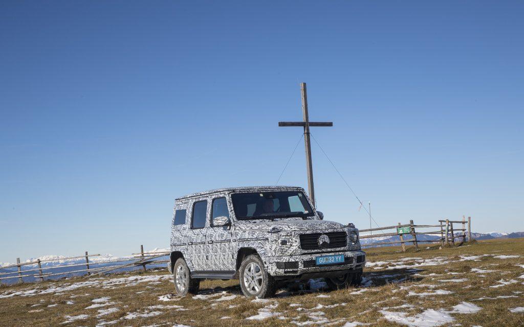 Am Schöckl getestet – Die neue Mercedes-Benz G-Klasse