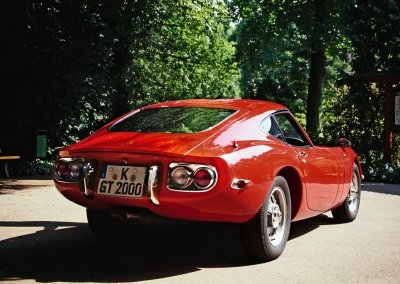 Toyota 2000 GT Heck