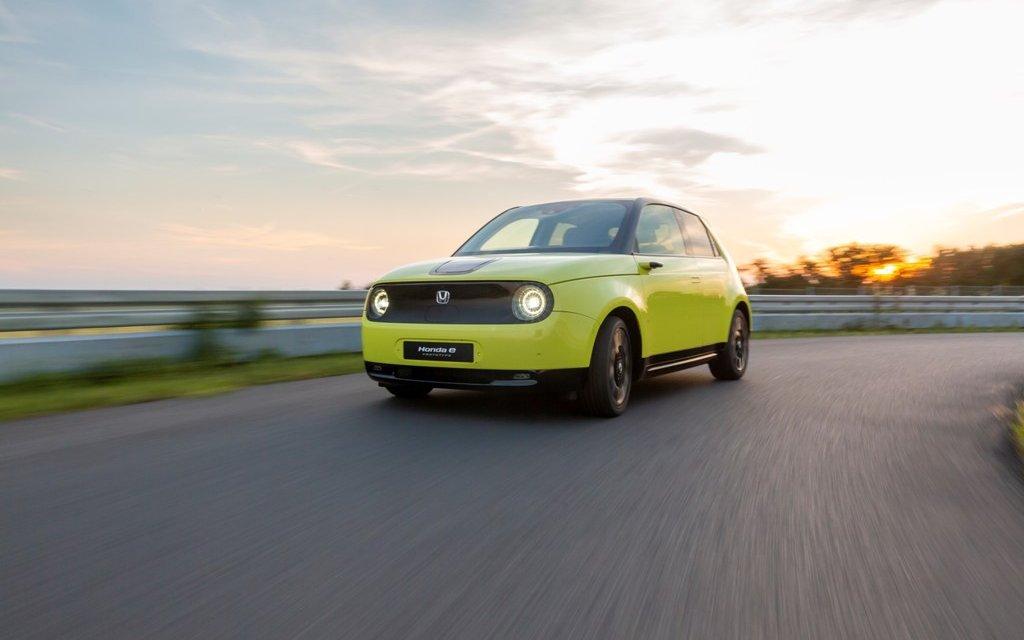Honda e – 200 Kilometer elektrisch