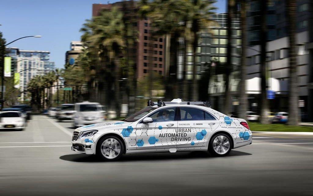 Daimler und Bosch testen autonomes Fahren in San José
