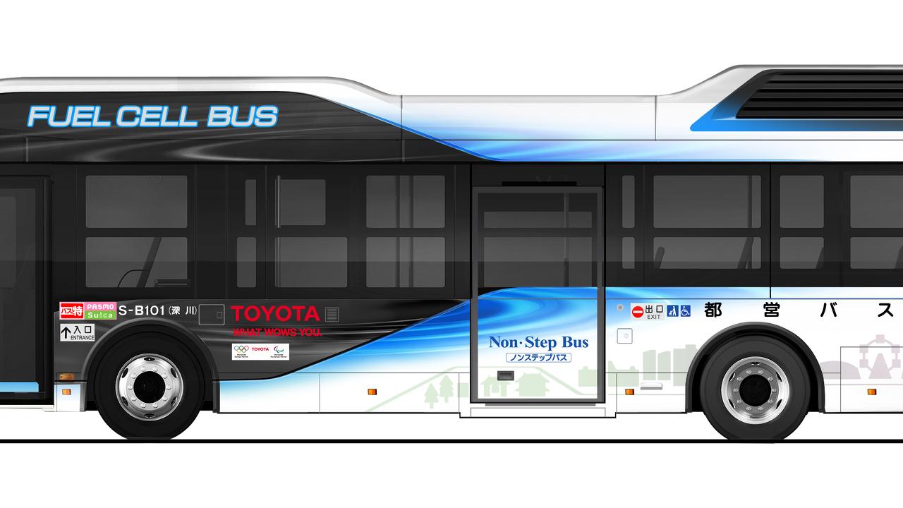 Toyota Brennstoffzellenbus