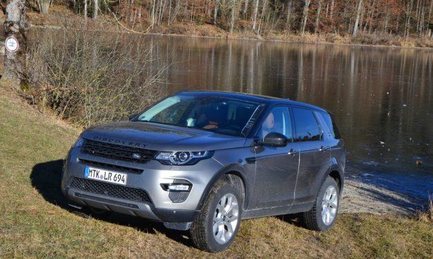Land Rover Discovery Sport – Ein echter Geländewagen