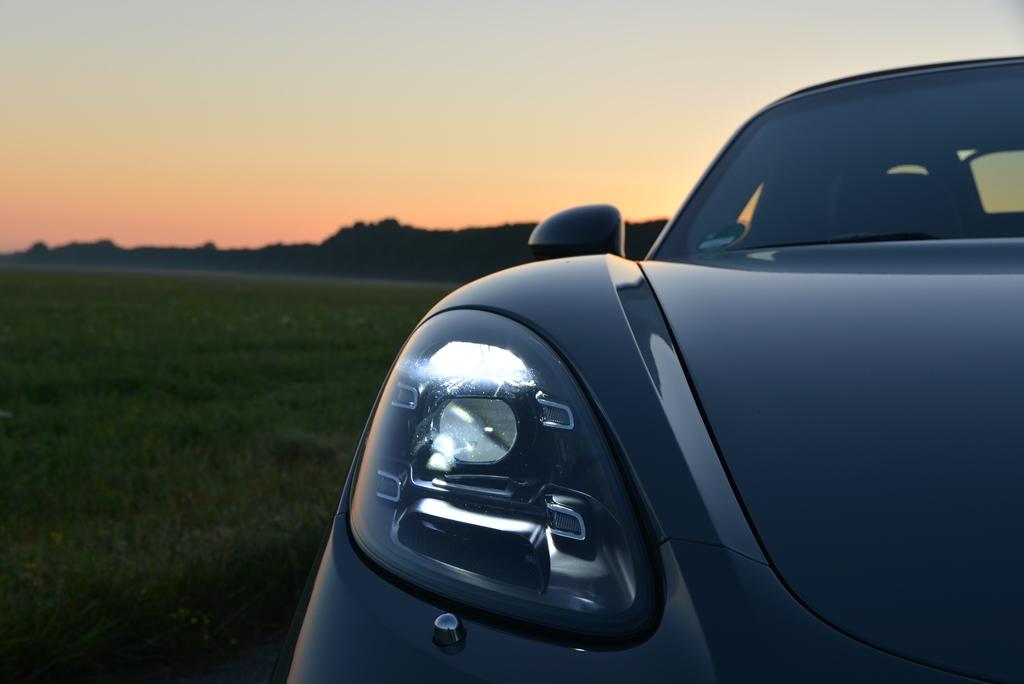 Porsche 718 Boxster S Licht