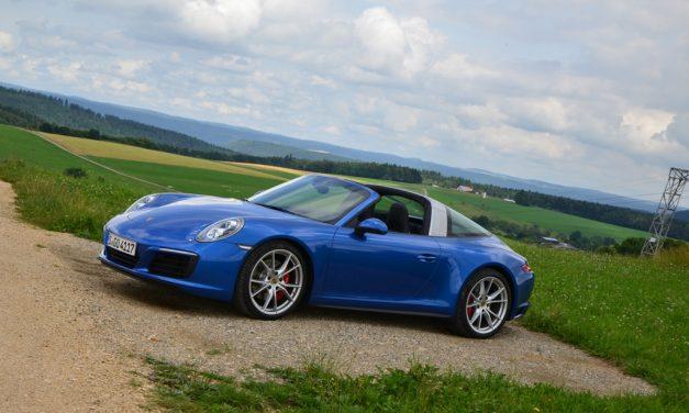 Porsche 911 Targa 4S – Der Bügel macht's