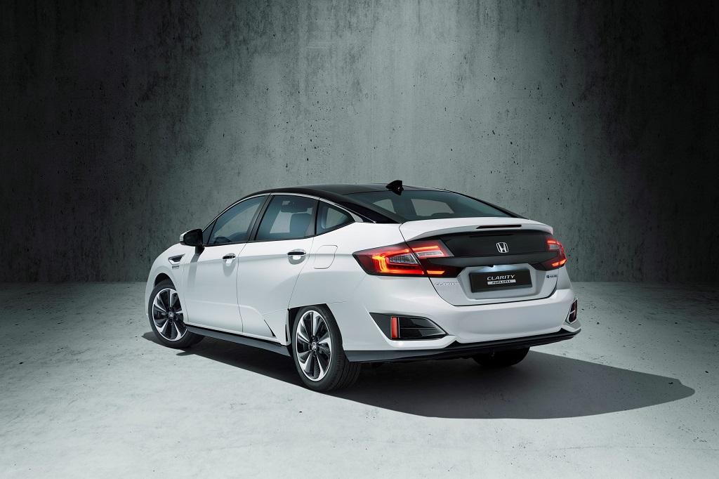 Honda Clarity Fuel Cell heck