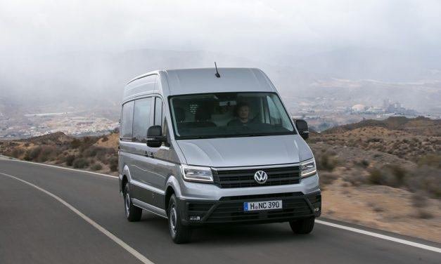 Assistenzsysteme im neuen Volkswagen Crafter