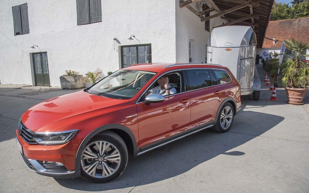 Volkswagen Passat – Die Kunst des Einparkens