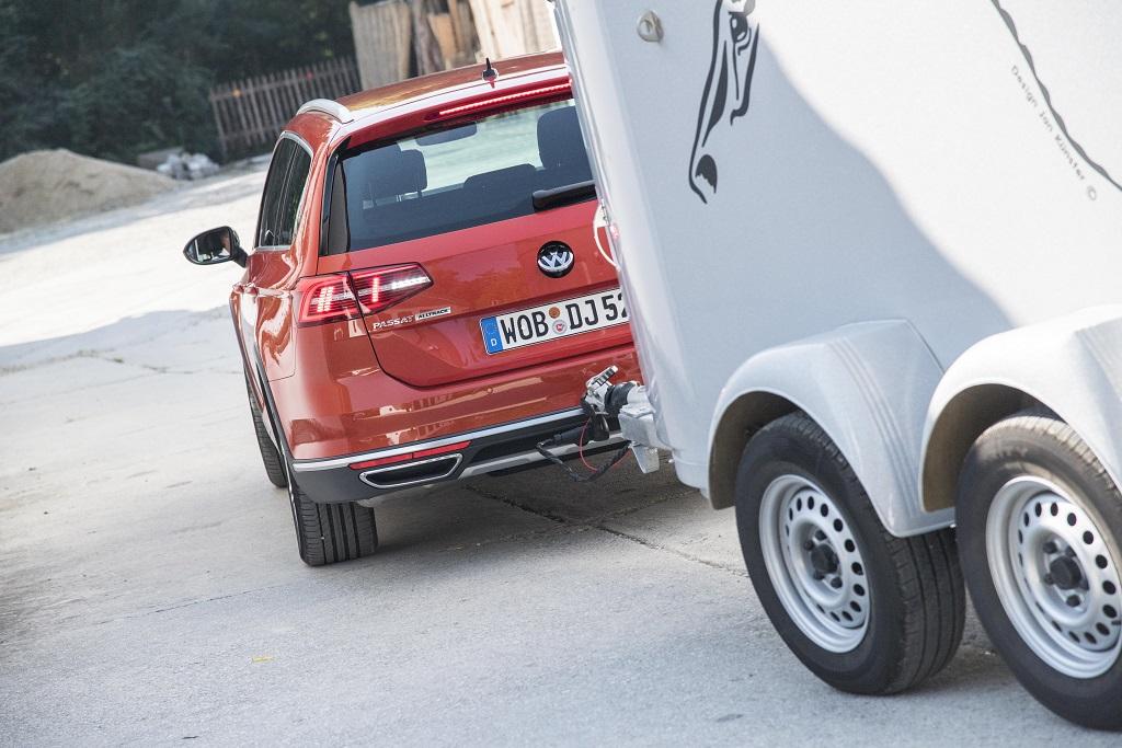 Volkswagen Passat Trailer Assist im Rangierbetrieb