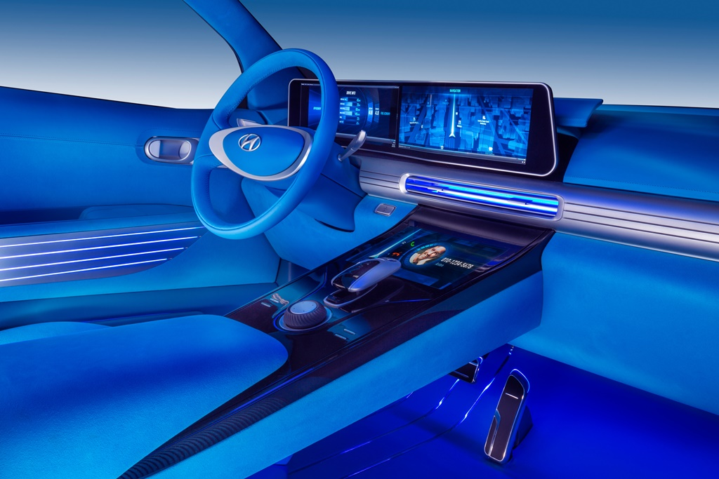 Hyundai FE Fuel Cell Concept Innenraum
