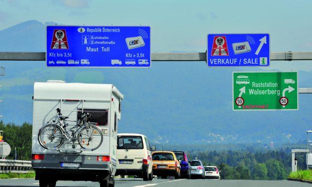 Vignette für Österreich 2018 auch digital