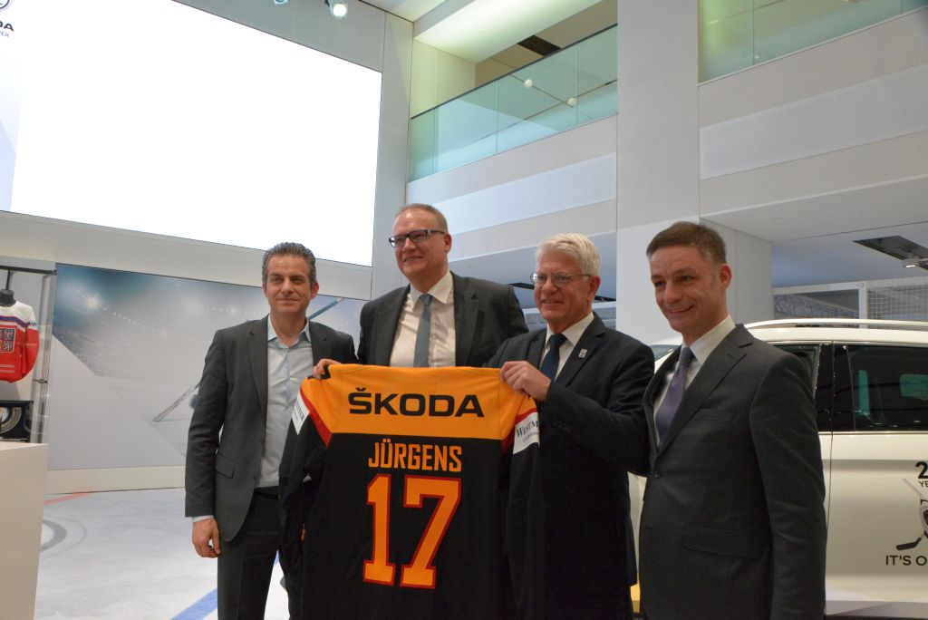 Skoda und Eishockey