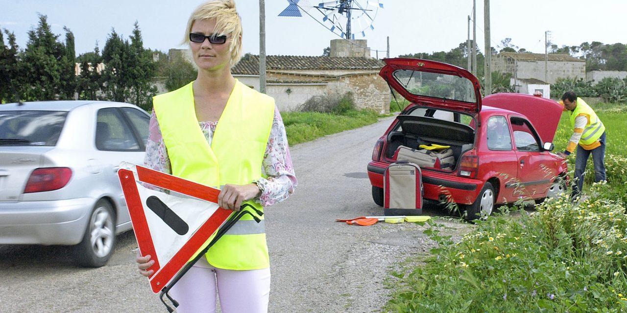 Richtig verhalten nach Unfall oder Panne