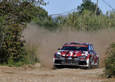 Petter Solberg (N)/Veronica Engan (N), Rally Spain, Volkswagen Polo GTI R5, 25–28 October 2018