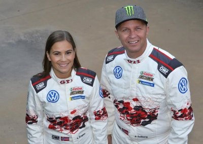Petter Solberg (N)/Veronica Engan (N), Rally Spain, Volkswagen