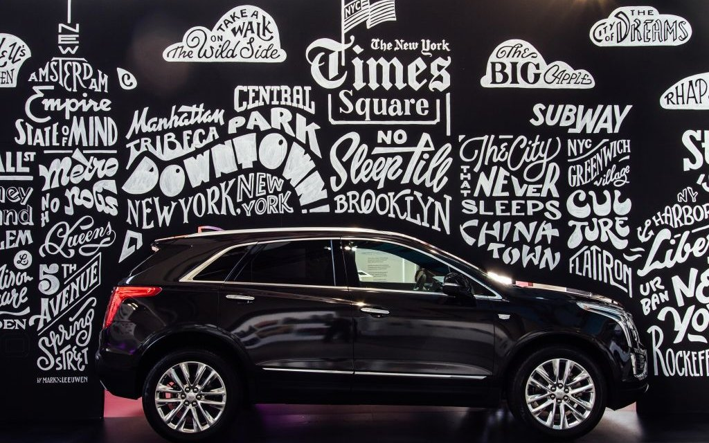 Cadillac engagiert sich auf der Stroke Art Fair in München