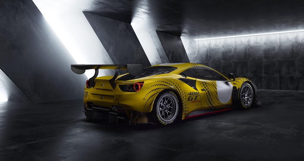 Ferrari 488 GT Modificata Heck