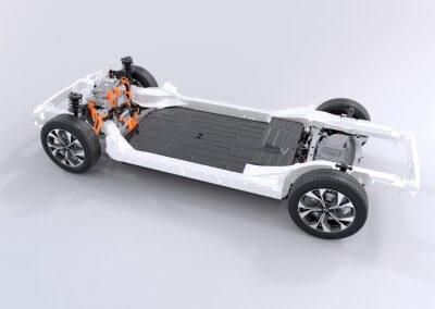 Ford Mustang Mach-E Querschnitt Batterie