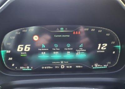 Toyota Mirai Advanced Display