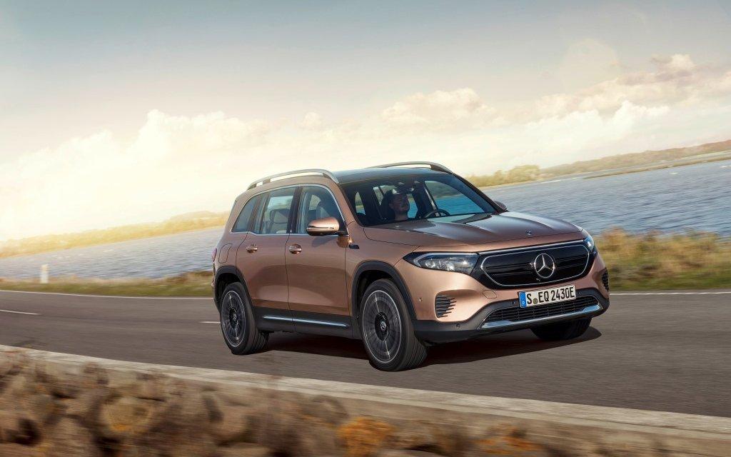 Mercedes-Benz EQB – Der Familienfreund