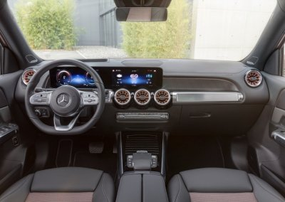 Mercedes-Benz EQB Cockpit