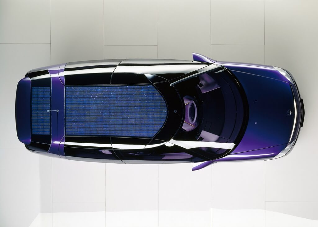 Mercedes-Benz F 100 Solardach
