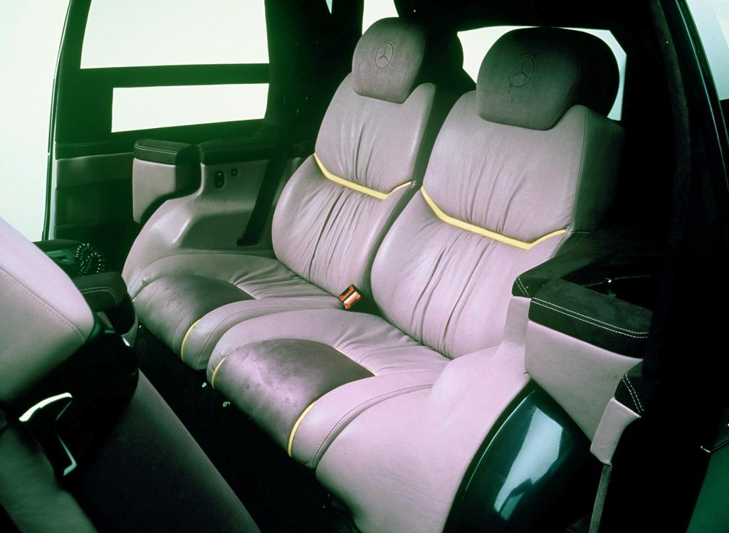 Mercedes-Benz F 100 Sitzbank