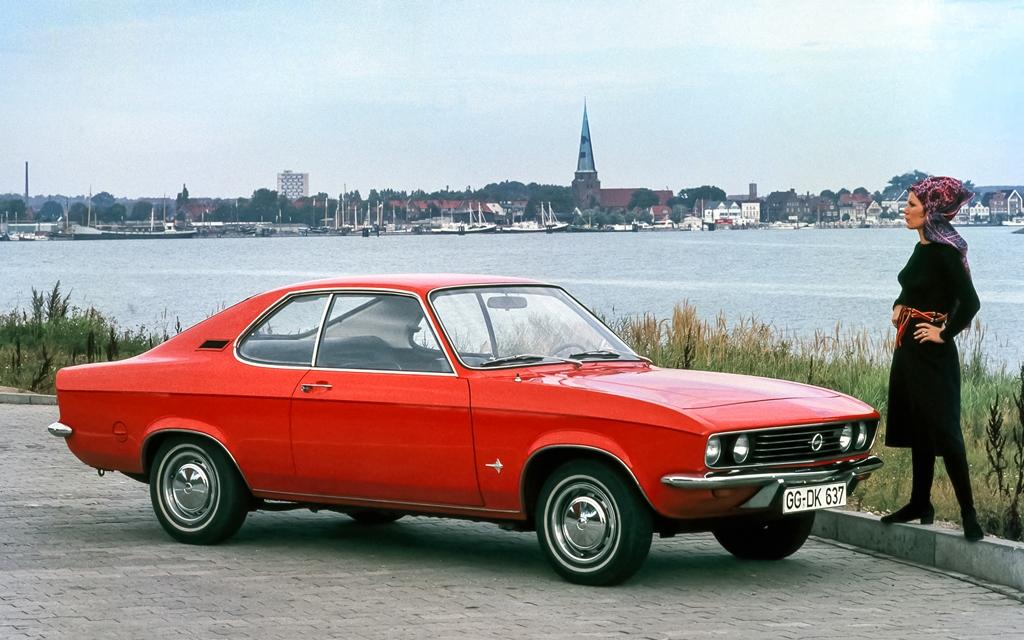Opel Manta – Die Eleganz des Rochens