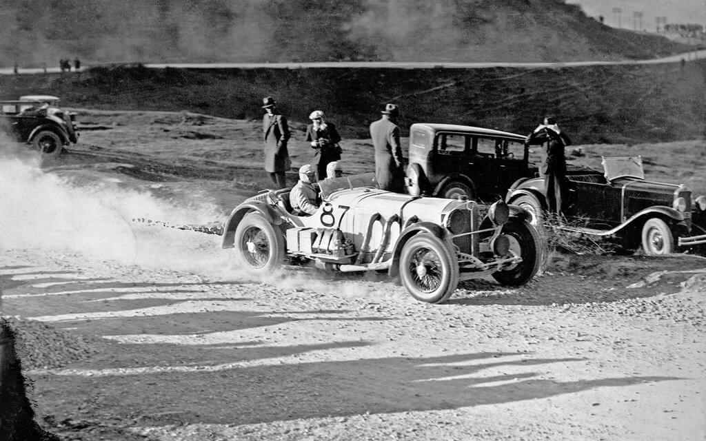 1931 gewinnt Caracciola die fünfte Mille Miglia