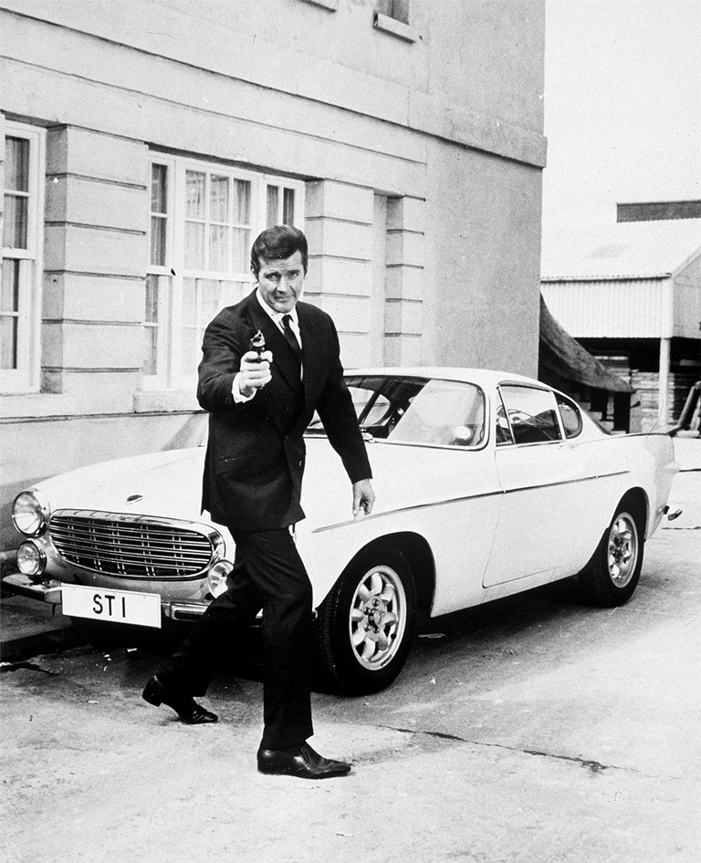 "Roger Moore as Simon Templar in ""The Saint"" (TV Series)"