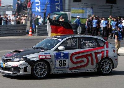 Subaru WRX STI 24h-Rennen-Nürburgring 2009