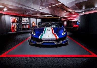 Ferrarri 488 Pista Allestimento Pilota Ferrari